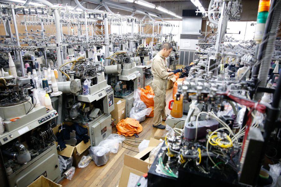 新しい機械の導入で幅広い製品づくりを