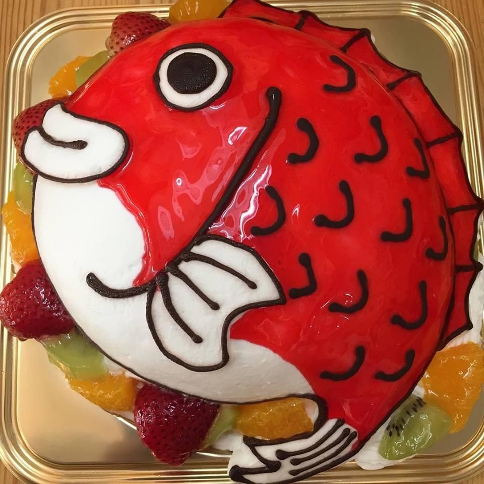 大人気!3Dキャラケーキでサプライズを