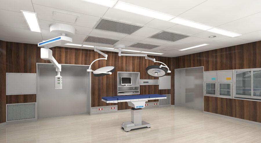 病院ごとの需要にあった、使い勝手の良いオペ室を